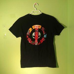"""2 For $15 Marvel Deadpool """"I AM THE LOGO"""" T-shirt"""